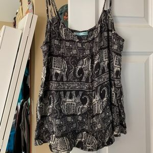 Maurices elephant loose tank top